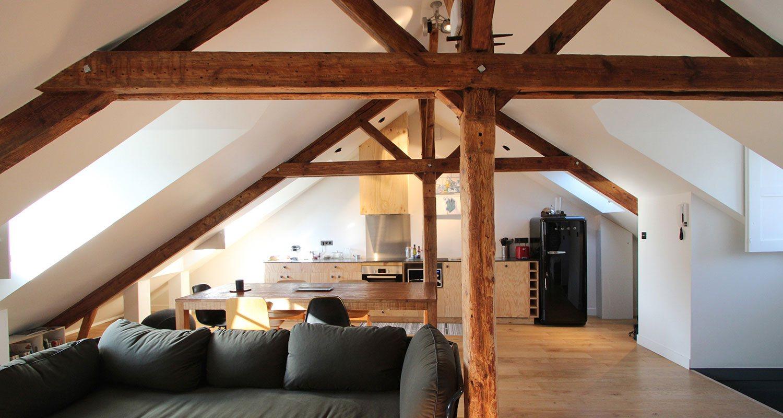 Loft appartement en location à Vannes - Saint-Patern - Bretagne Sud - Morbihan.